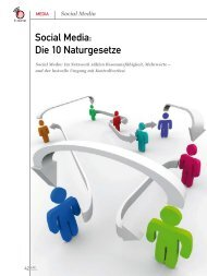 Social Media: Die 10 Naturgesetze - marke41