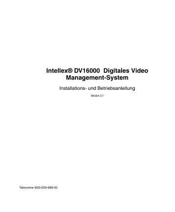 Installationsanleitung - IP CCTV GmbH