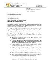 SURAT PEKELILING IKHTISAS BIL. 2/1995 - Kementerian ...