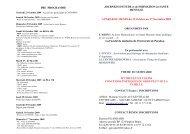 BENIN du 23 Octobre au 1 Novembre 2009 ORGANISEES