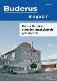 Stiahnite si Buderus Magazín 2012 vo formáte pdf (3,0 MB)