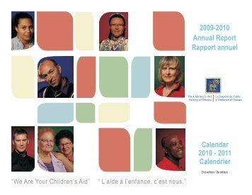 Rapport annuel 2009-2010 - The Children's Aid Society