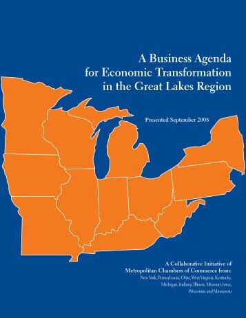 A Business Agenda for Economic Transformation in the Great Lakes ...