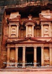 Følg med på en historisk reise i Antikkens fotspor til Egypt og ... - Solia