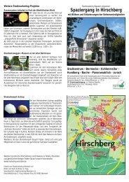 Spaziergang in Hirschberg - Stadtmarketing Warstein