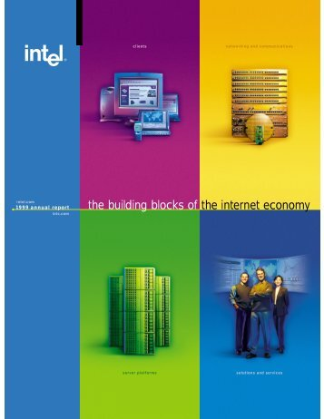 Intel Corporation Annual Report 1999