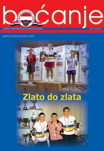 glasilo 8 - Hrvatski boćarski savez