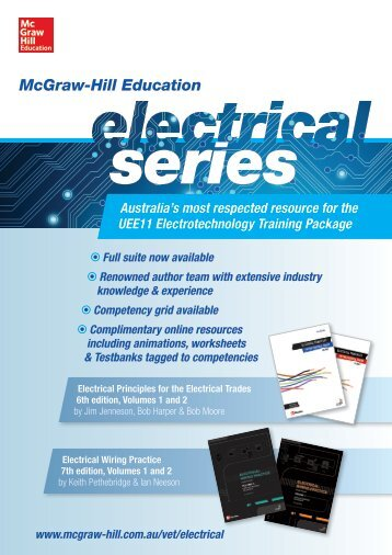 Electrical - McGraw-Hill Australia