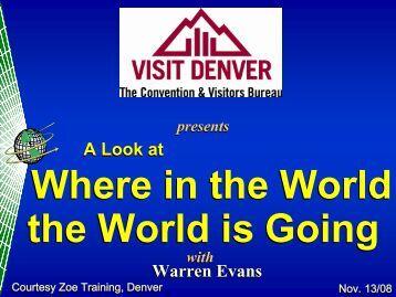 A Look at Warren Evans
