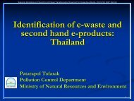 E-waste management in Thailand - SmartEE Consulting LLC