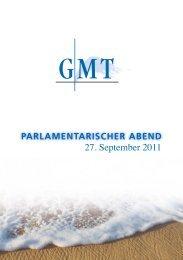 PARLAMENTARISCHER ABEND - Gesellschaft für Maritime ...