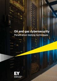 Oil and gas cybersecurity
