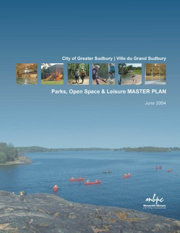 Parks, Open Space & Leisure MASTER PLAN June 2004
