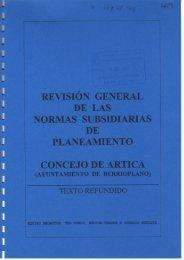 REVISIÓN GENERAL DE LAS NORMAS ... - SIUN - Navarra