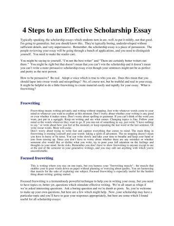 i deserve this scholarship essay samples