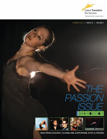 MovingOn: Issue 25 Summer 2011 - Career Transition For Dancers