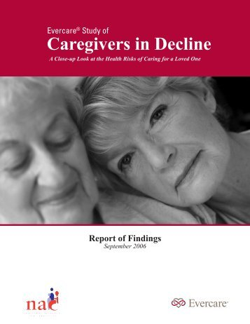 Caregivers in Decline - National Alliance for Caregiving