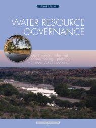 Chapter 4 - Water Resource Governance - CSIR