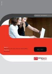 KOOB - Agentur für PR GmbH Firmensitz - PROAD Software