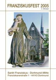 FRANZISKUSFEST 2005 - St. Franziskus Kirche