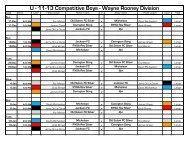 U - 11-13 Competitive Boys - Wayne Rooney Division