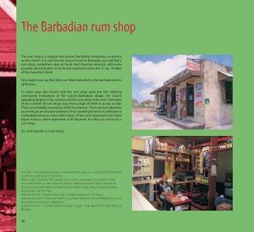 The Barbadian rum shop - Macmillan Caribbean