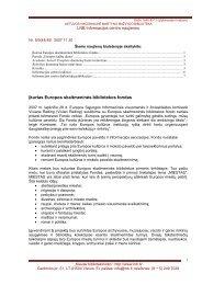 Nr. 8 / 9 (44–45), 2007-11-30 [101 Kb, PDF] - Lietuvos nacionalinė ...