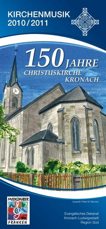 150Jahre christuskirche kronach - Marius Popp