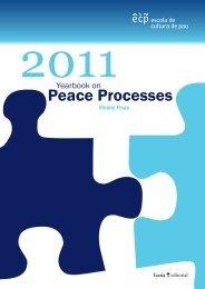 2011 yearbook of peace processes - Escola de Cultura de Pau