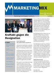 Ausgabe 1/2010 - Marketing Club Bergisch Land eV