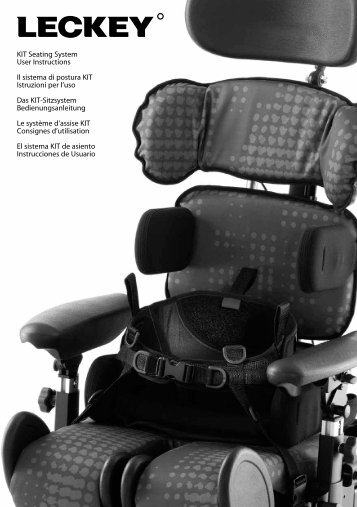 KIT Seating System User Instructions Il sistema di postura ... - Leckey