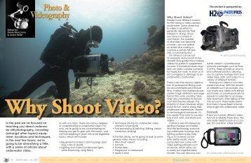 Why shoot video? - X-Ray Magazine