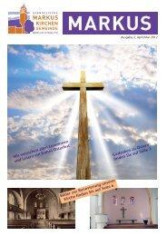 Unsere Gottesdienste - Evangelischen Markus-Kirchengemeinde