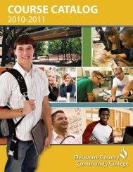 2010 Catalog - Delaware County Community College