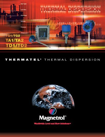 Thermatel® Model TD2 Sanitary - Technical Brochure - Magnetrol ...