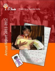 Annual Report 108 2012 - Asha for Education