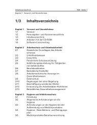 Inhalt des elektronischen Handbuchs