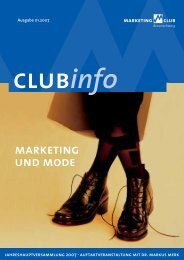 Club Info - Marketing-Club Braunschweig