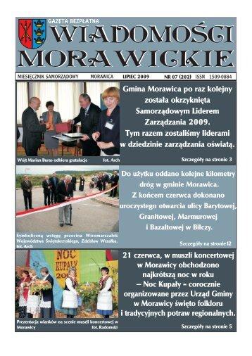Gmina Morawica po raz kolejny zosta³a okrzyknięta Samorz¹dowym ...