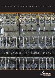 SYSTEMES DE TRAITEMENT D'EAU - Victaulic