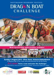 Boat sponsorship opportunities available! - Dragon Boat Racing