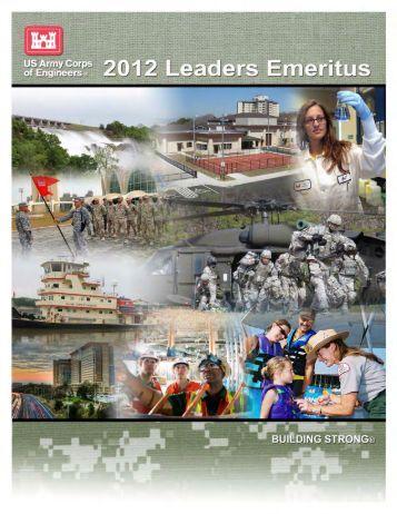 Read-Ahead Packet - U.S. Army Corps of Engineers
