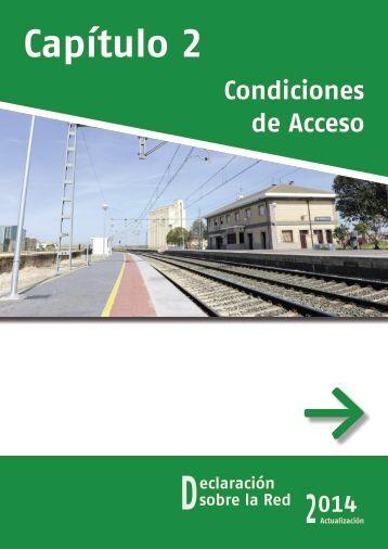Condiciones de Acceso - Adif