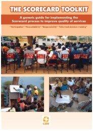 The Scorecard Toolkit - ANSA-Africa