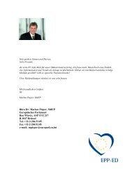 Büro Dr. Markus Pieper, MdEP Europäisches Parlament Rue Wiertz ...