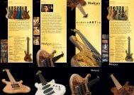 Marl Flyer 8er Altar RZ.indd - Marleaux Bass Gitarren