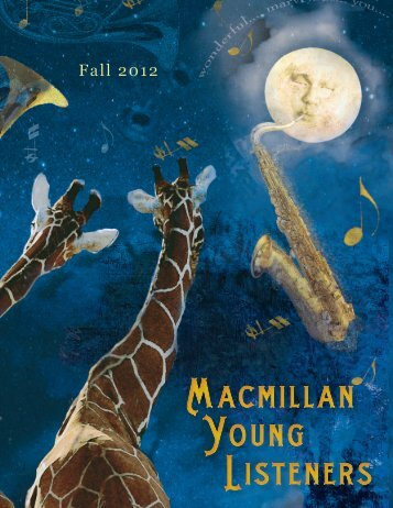 Fall 2012 Macmillan Young Listeners Frontlist ... - Raincoast Books