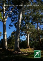 National Trust of South Australia Annual Report 2010-2011 National ...