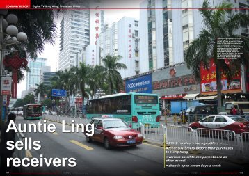 Auntie Ling sells receivers