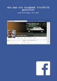 Wie man ein Facebook Titelbild gestaltet